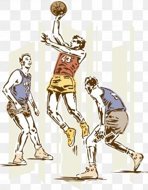 Basketball - 2016 Summer Olympics Basketball Sport Illustration PNG