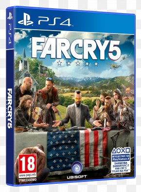 Far Cry 5 Logo - Far Cry 5 PlayStation 4 Video Games Ubisoft Far Cry Primal PNG