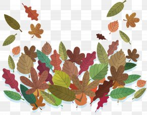 Autumn Leaves Poster - Autumn Poster PNG