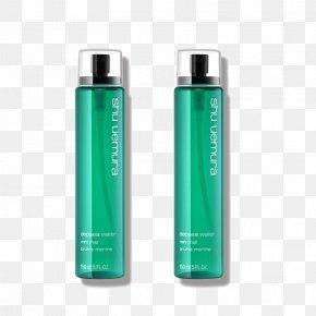 Spray Lotion Shu Uemura Green Apple - Lotion Cosmetics Moisturizer Face Toner PNG