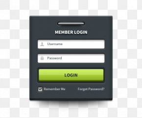 Interface - Login User Interface Android Icon PNG