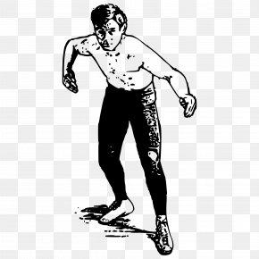 Wrestler Vector - Professional Wrestling Clip Art PNG