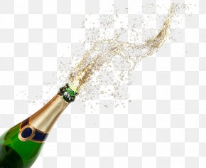 Champagne Popping - Champagne Wine PNG