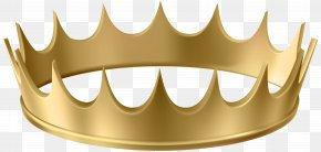 Gold Crown Transparent Clip Art Image - Crown Gold Clip Art PNG