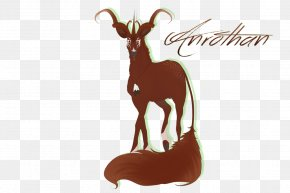 Goat - Antelope Goat Reindeer Fauna Cartoon PNG