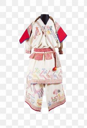 Suit - Nayarit Huichol Sierra Madre Occidental Clothing Folk Costume PNG