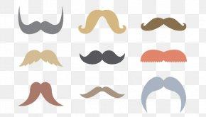 A Variety Of Shapes Beard - Moustache Movember Beard Wallpaper PNG