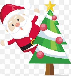 Santa Claus - Santa Claus Christmas Decoration Gift Reindeer PNG
