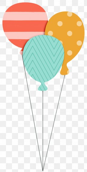 Balloon Bundle - Birthday Cake Happy Birthday To You Greeting & Note Cards PNG
