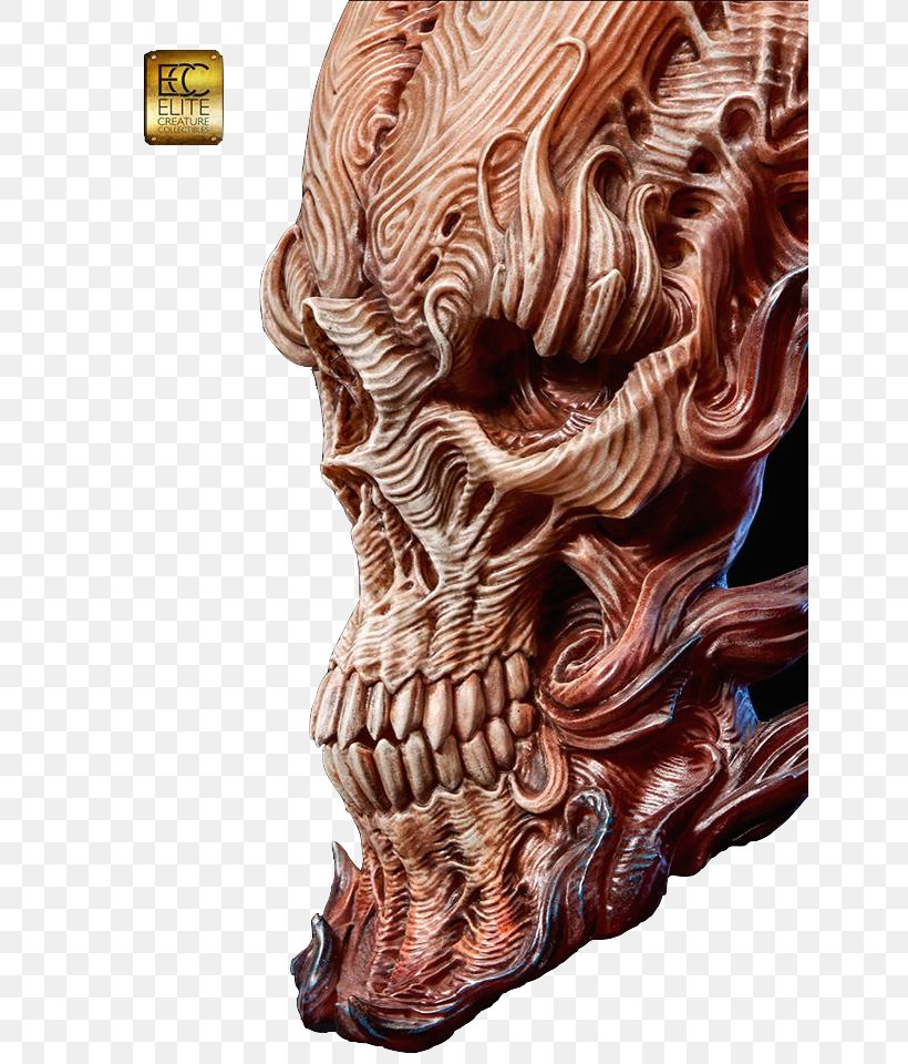 Skull Fire Sculptor Sculpture Jaw Png 640x960px Skull Anatomy Art Bone Carving Download Free