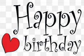 Cute Happy Birthday Clipart Picture - Birthday Cake Wish Greeting Card Clip Art PNG