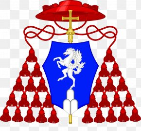 Via Rusticucci - Cardinal Archbishop Coat Of Arms Ecclesiastical Heraldry PNG