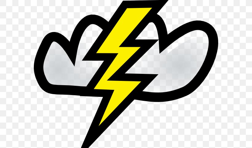 Lightning Cloud Thunder Free Content Clip Art, PNG, 600x483px, Lightning, Area, Brand, Cartoon, Cloud Download Free