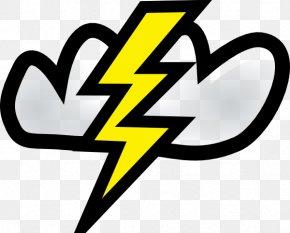 Storm Mascot Cliparts - Lightning Cloud Thunder Free Content Clip Art PNG