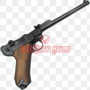 Luger Pistol - Trigger Luger Pistol Firearm Gun Barrel Airsoft Guns PNG