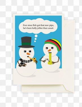 Bong - Font The Snowman PNG