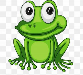 Frog - Frog Cartoon Clip Art PNG
