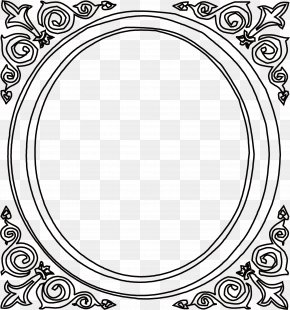 Chinese Retro Black Frame - China Black And White PNG