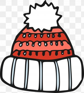 Cartoon Plush Hat Winter Hat - Hat Cartoon Winter Clip Art PNG