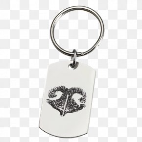 Dog Nose - Key Chains Stainless Steel Metal Engraving PNG