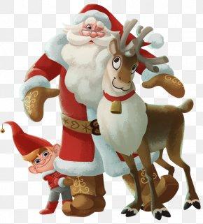 Santa Claus - Santa Claus Joulupukki Korvatunturi Christmas Reindeer PNG