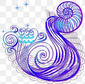 Vector Aquarius - Aquarius Euclidean Vector Constellation PNG