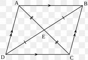 Quadrilateral - Parallelogram Quadrilateral Geometry Shape Mathematics PNG