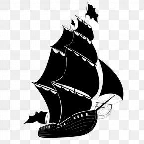 Ship - Sailing Ship Piracy Drawing PNG