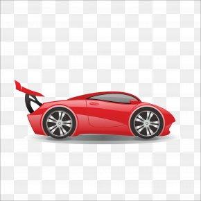 Car - Sports Car Bus Sticker PNG