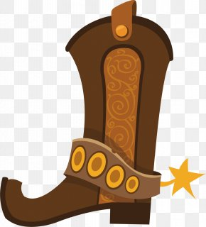 Cowboy Boots Vector - Cowboy Boot Illustration PNG