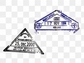 Vector Triangle Postmark - Rubber Stamp Postmark Postage Stamp Seal PNG