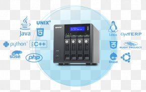 Qnap Systems Inc - Network Storage Systems QNAP TVS-471 Hard Drives Data Storage QNAP Systems, Inc. PNG