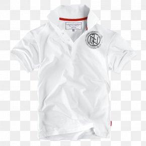 T-shirt - T-shirt White Sleeve Collar PNG