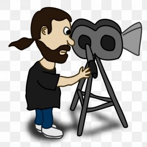 Comic Pictures Of People - Filmmaking Film Director Photography Clip Art PNG