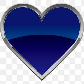 Heart Blue Clip Art PNG