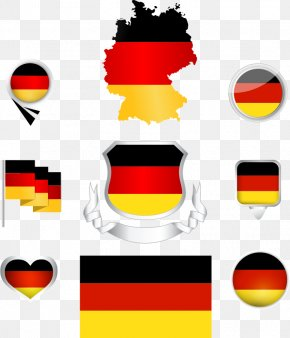 Vector Flag Of Spain - Flag Of Germany National Colours Of Germany PNG