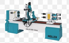 Wood - Computer Numerical Control Lathe Machine Woodturning Woodworking PNG