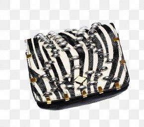 Zebra Bag - Clip Art PNG