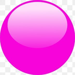 Bubble - Magenta Purple Button PNG