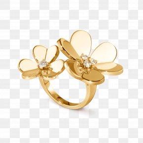 Ring Finger - Van Cleef & Arpels Earring Jewellery Diamond PNG