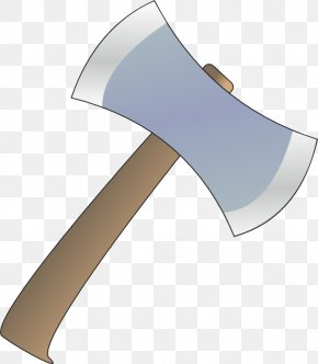 Transparent Axe Cliparts - Battle Axe Hatchet Clip Art PNG