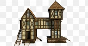 Wooden House Free Download - Middle Ages Medieval Household PNG