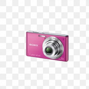 Purple Red Digital Camera - Point-and-shoot Camera Zoom Lens Digital Data Liquid-crystal Display PNG