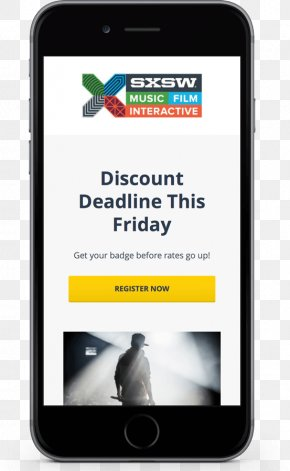 Smartphone - Smartphone Display Advertising South By Southwest PNG