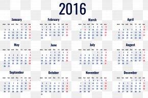 2016 Calendar Transparent Clipart Picture - Calendar Clip Art PNG