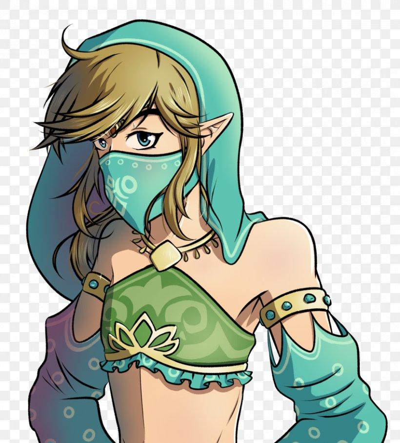 The Legend Of Zelda Breath Of The Wild Dark Link Deviantart Png 849x940px Watercolor Cartoon Flower