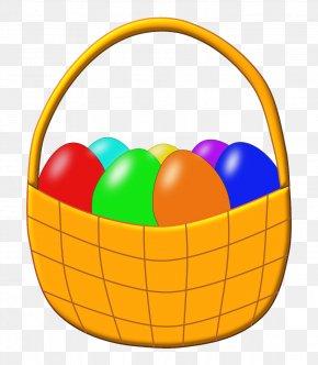 Easter Basket - Easter Basket Clip Art PNG