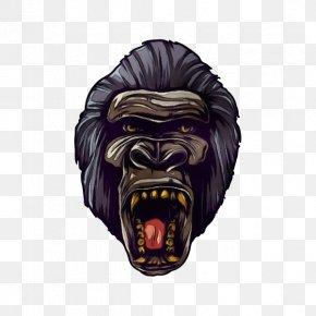 Mandrill Headgear - Roar Headgear Mandrill PNG