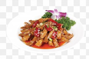 Spicy Luya Tongue - Twice Cooked Pork Red Cooking Kung Pao Chicken Chinese Cuisine Sichuan Cuisine PNG