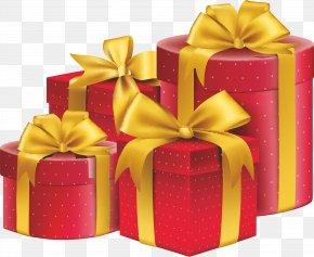 Gift - Gift Ribbon Box Illustration PNG